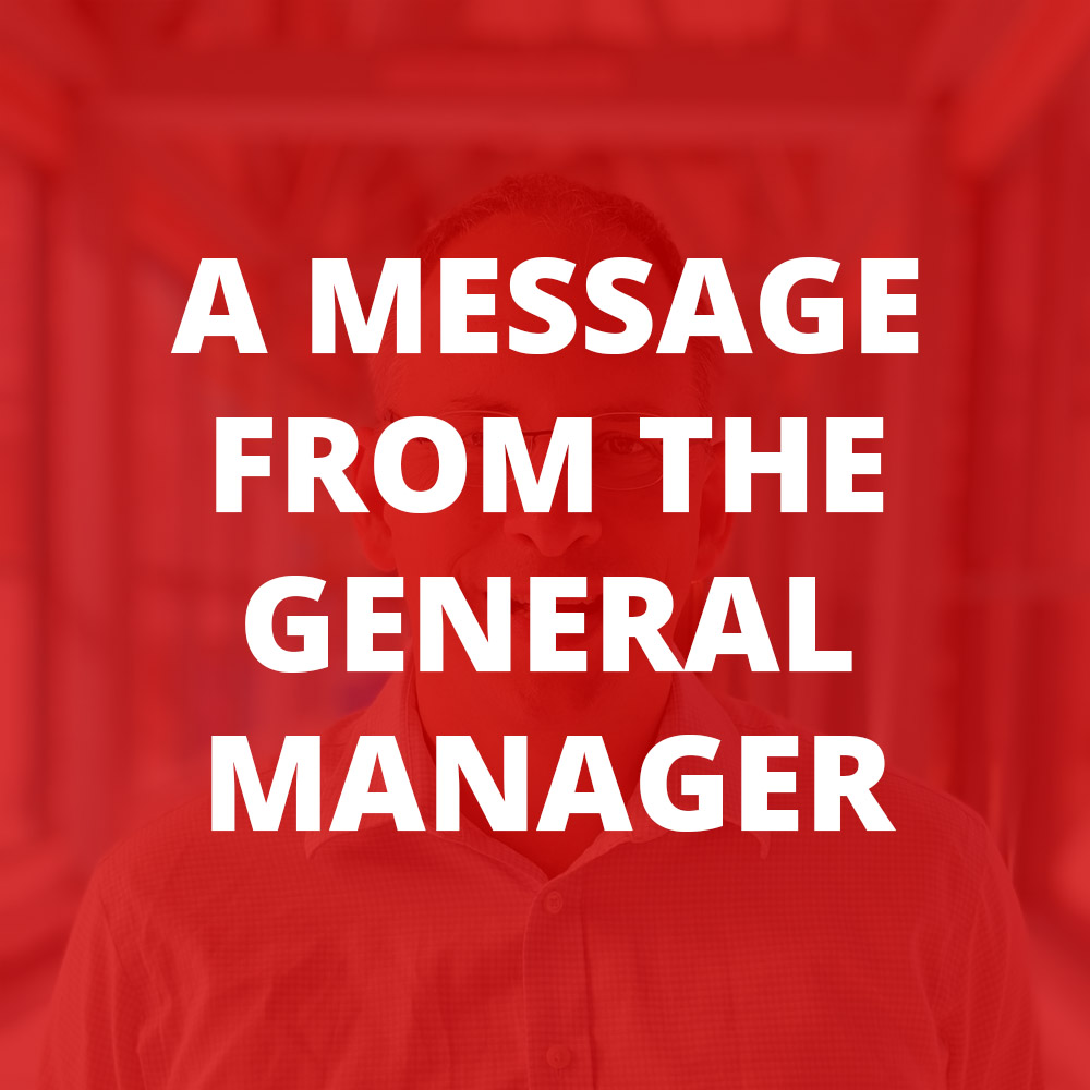 A Message from the GM