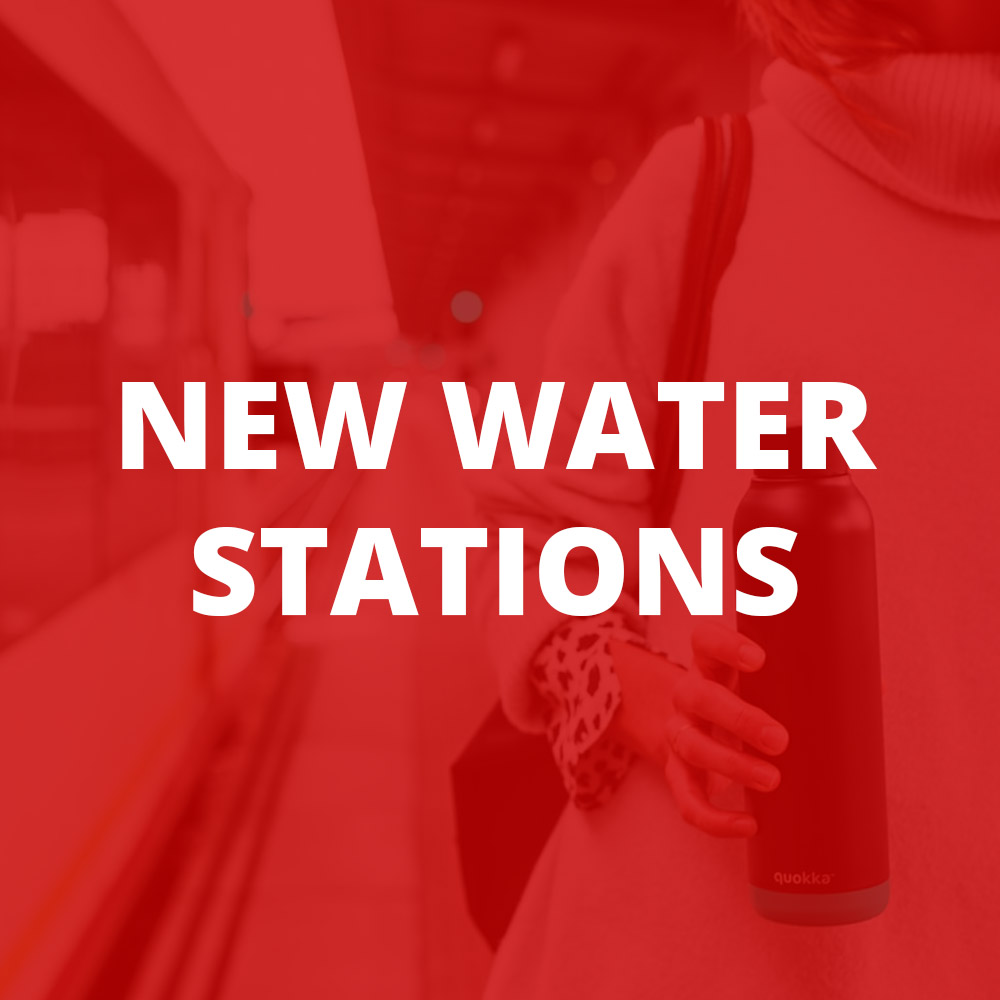 New Water Stations