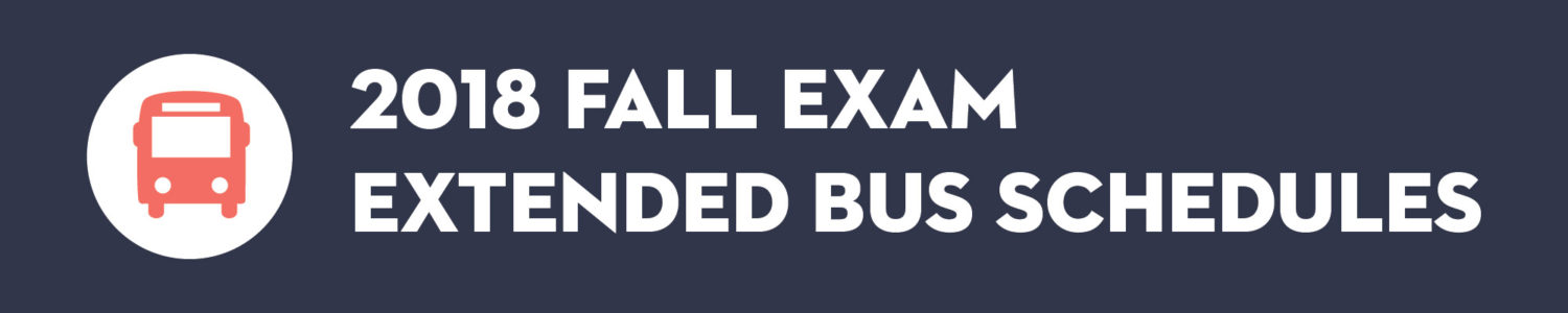 Click here to see our 2018 Extended Fall Exam Hours